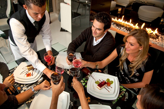 Elegantia Restaurant Dining Environment